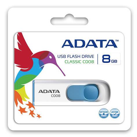 Флешка USB AData C008 [AC008-8G-RWE], фото 2