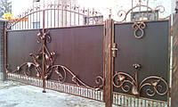 Кованные ворота 1279, фото 1