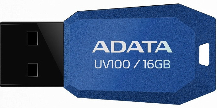 Флешка USB AData UV100 [AUV100-16G-RBL]