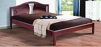 Ліжко деревяне Марго (темний горіх)
