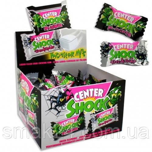 Жевательная резинка  Chupa Chups Center Shock monster mix (монстр кола, монстр апельсин) 4г