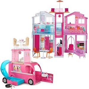 Домики и аксессуары для Барби