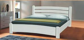 """Ліжко деревяне """"Софія"""" 160*200 в білому кольорі"""
