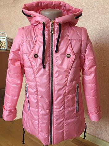 e86e2263bd83 Детская весенняя куртка-жилетка на флисе для девочки, р.110-134 ...