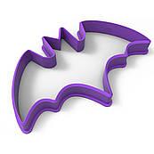 Вырубка для пряников Хеллоуин - Летучая мышь 9*5,5см (3D)