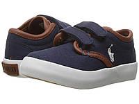 Мокасины Polo Ralph Lauren синие детские EU 25 25,5 кеды оригинал ральф лорен