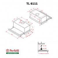 Вытяжка Perfelli TL 6111 I, фото 1