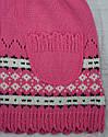 Кофта-туника вязанная для девочки розовая (Jomar, Польша), фото 4