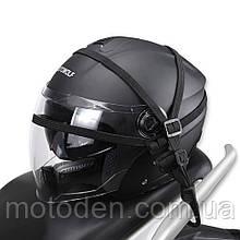 Держатель шлема эластичный (жгут) с пластиковыми крючками.