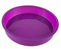 Форма силиконовая для выпечки Бисквита, пирога, круглая