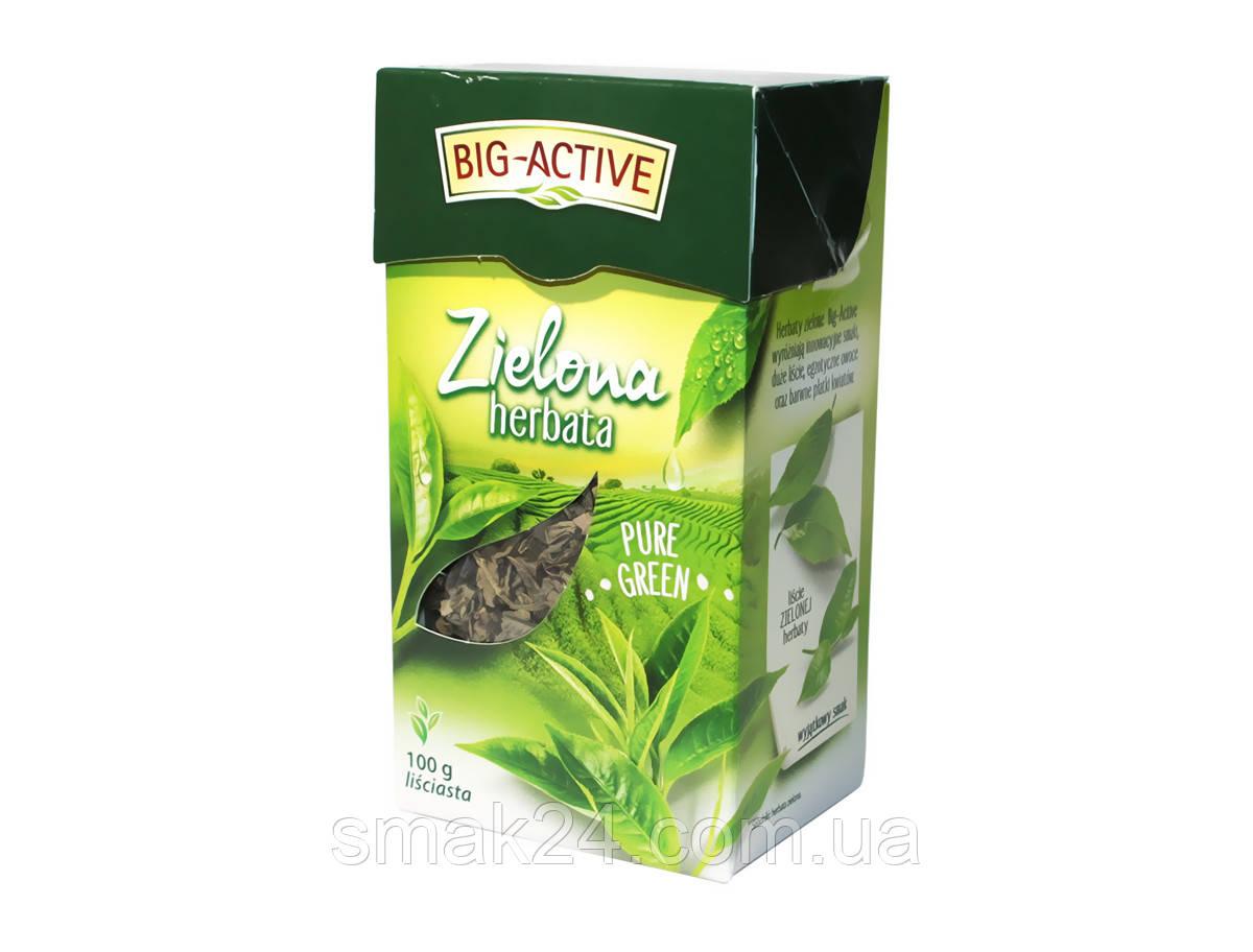 Чай зеленый Big Aktiv Польша 100г