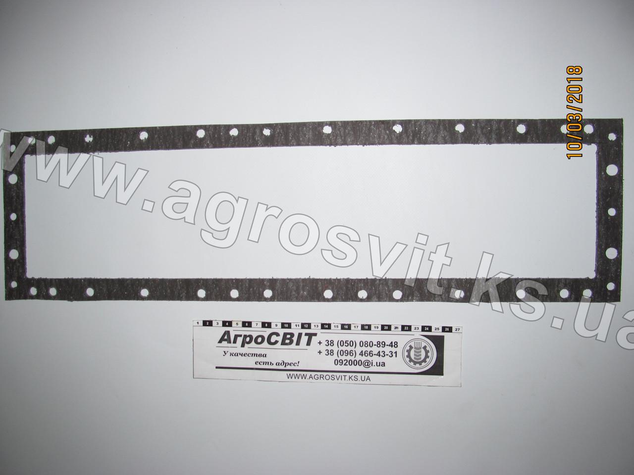 Прокладка бачка радиатора МТЗ-1221-1523 (верхняя/нижняя) 5-и рядного, кат. № 141.13.01.114