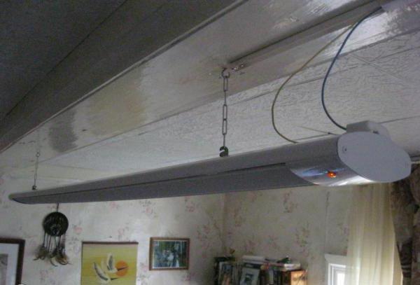 ИК-отопление потолочное