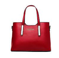 Женская сумка Sweet Sa красная эко-кожа