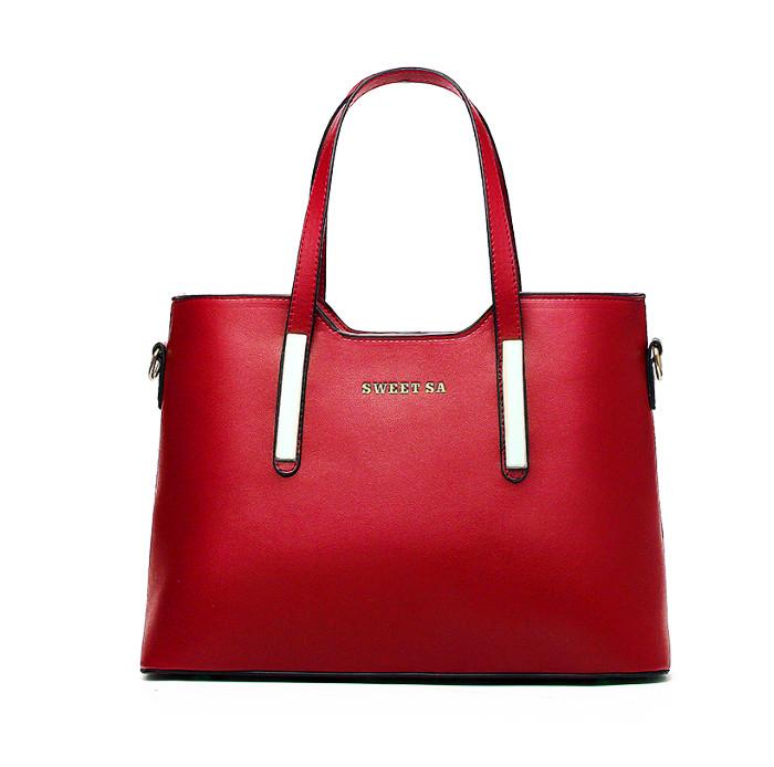 85d0b99ee4c3 Женская сумка Sweet Sa красная эко-кожа - Интернет магазин Levski в Полтаве