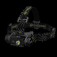 Налобный фонарь Nitecore HC60 (Cree XM-L2 U2, 1000 люмен, 8 режимов, 1x18650, USB)