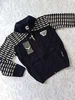 Теплая детская кофта , худи Armani
