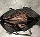 Стильная женская сумка серая эко-кожа, фото 3