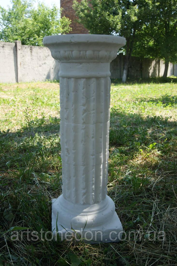 Колонна из мрамора высокая 56 см