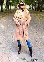 Пальто женское кашемировое 1017 Ем