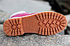 "Женские ботинки Timberland ""Pink"" (Тимберленд) с мехом, фото 8"