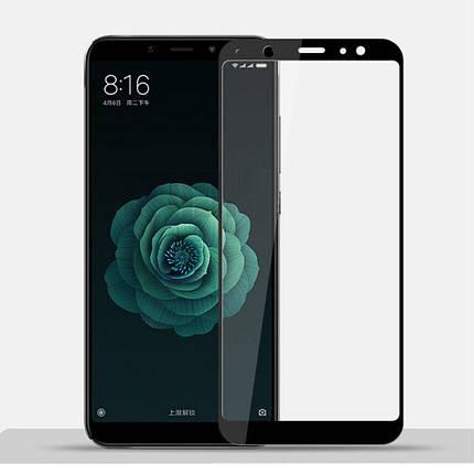Стекло Full Coverage для Samsung A6 Plus 2018 цвет Black, фото 2