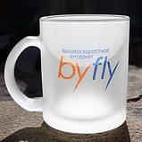 "Матовая чашка ""фроузен"" под нанесение логотипа, фото 2"