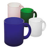 "Матовая чашка ""фроузен"" под нанесение логотипа, фото 5"