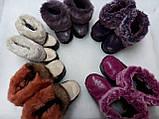 Пинетки детские для девочек - ростовка (комплект из 5шт), фото 3