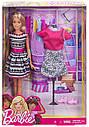 Кукла Барби Модница с одеждой и аксессуарами Barbie Fashions FFF59, фото 4