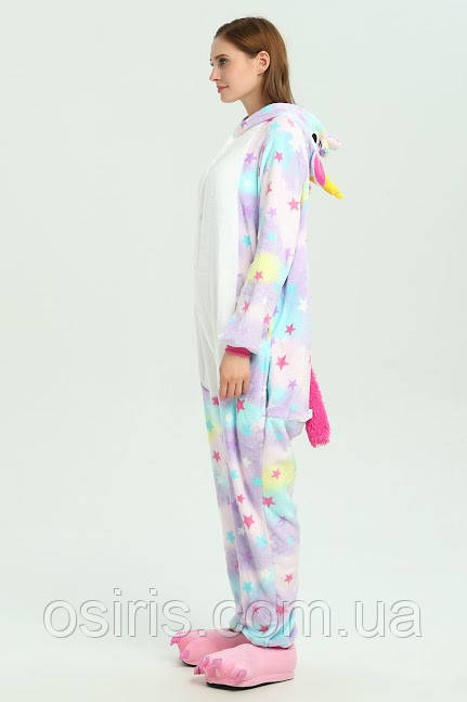 Пижама Кигуруми Единорог Звезды М (на рост 155-165)  продажа 1ad66541dfc63