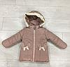 Куртка на девочку зима ( р-ры 2 - 4 года )