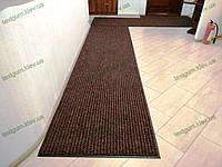 Ковер грязезащитный Рубчик-16 коричневый 100х200см