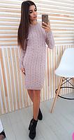 Платье женское ( вязка; р-р 44 - 50 ун. )