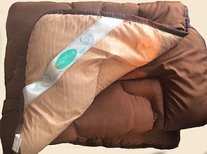 Одеяло Холофайбер (коричневое) 150*210 Лери Макс зимнее, фото 2
