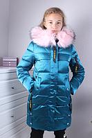 Куртка на девочку зима ( р-ры 140 - 164 )