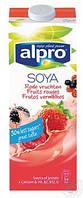 Напиток соевый фруктовый с кальцием 1л, Alpro, Алпро, молоко соевое