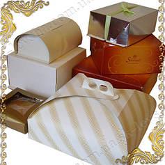 Упаковочные коробки, подложки для тортов, наполнители, тишью