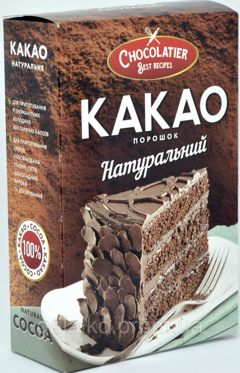 """Какао порошок натуральный 80г """"Chocolatier"""""""