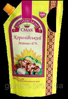 "Майонез 67% Д/П 1000гр дозатор (12)""Корол Смак"" , фото 2"