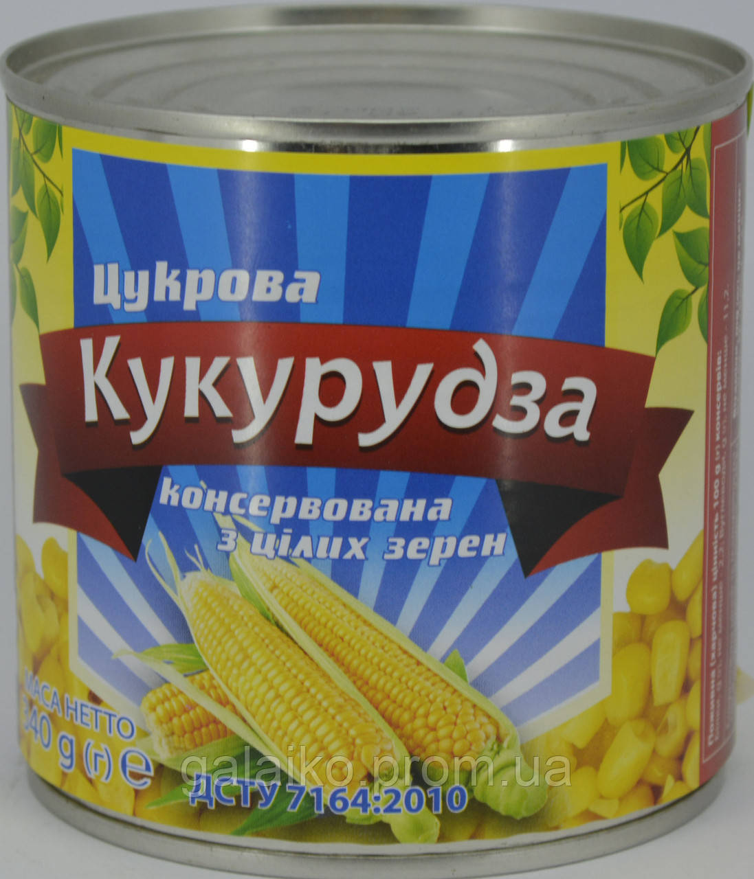 Кукуруза сахарная БТМ ж/б 340г (12)
