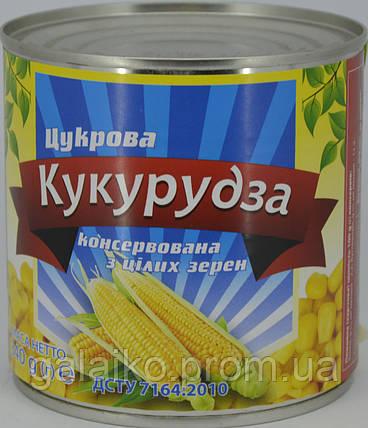 Кукуруза сахарная БТМ ж/б 340г (12), фото 2