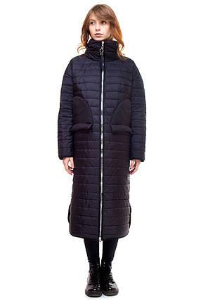 aee0a3f88c1 Пальто черное Alberto Bini 4016  продажа