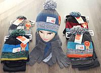 Зимние детские шапки ,шарф,перчатки для мальчика