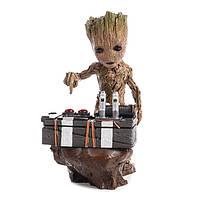 Композиция Бэби Грут Baby Groot Guardians of the Galaxy 18 см