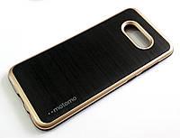 Протиударний чохол Motomo для Samsung Galaxy S8 Plus g955 чорний з золотим