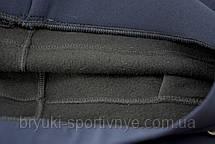 Брюки женские на флисовой подкладке в больших размерах, фото 3