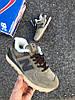 """Женские зимние кроссовки New Balance 574 """"Brown"""" (Нью Баланс) с мехом, фото 3"""