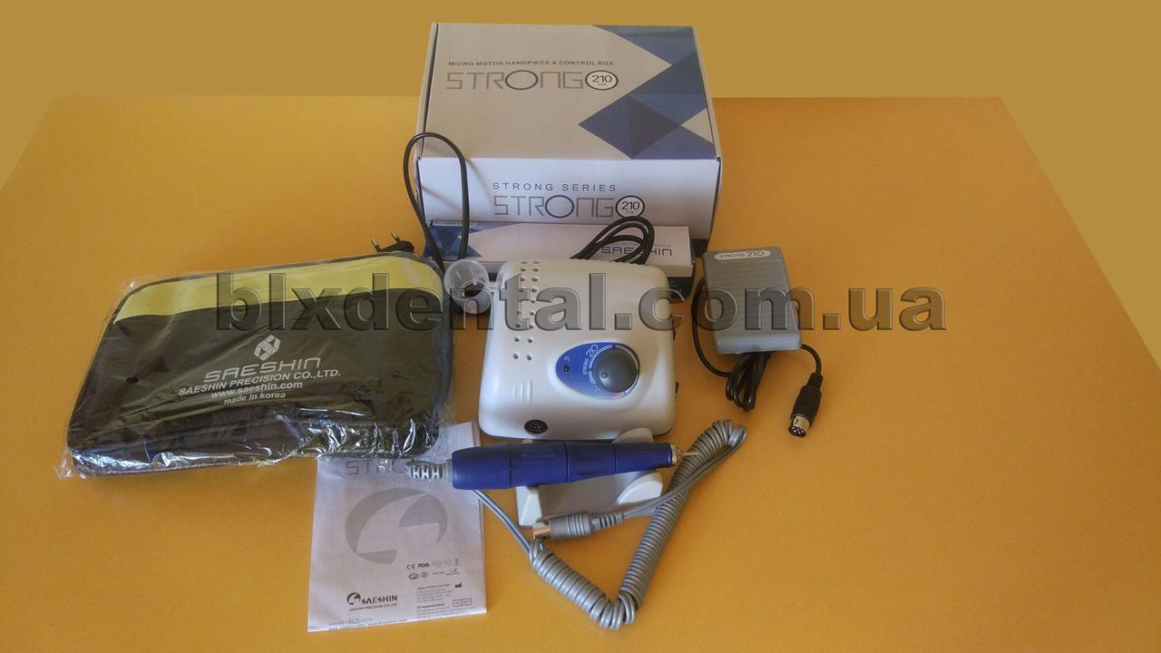 Фрезер STRONG 210 ручка Traus 105L (Корея) с сумкой