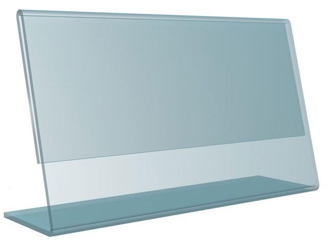 Подставка пластиковая горизонтальная для информации А4